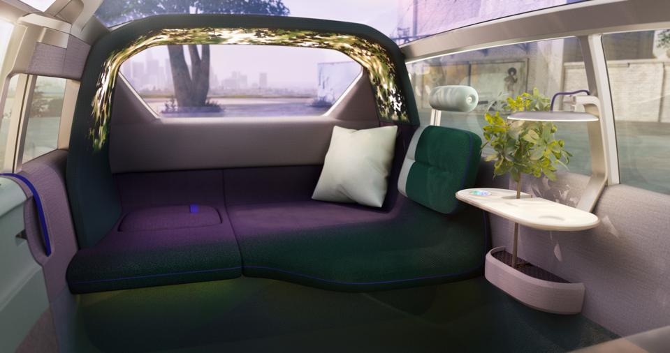 The interior is a complete flight of fancy, and fantasy.