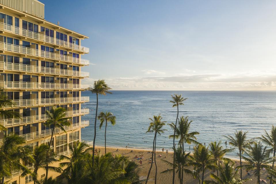 Waikiki, Hawaii Black Friday cyber Monday Travel Tuesday deals