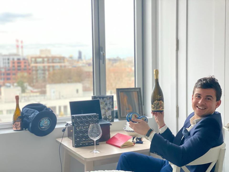 Jonathan Boulangeat always had a knack for champagne, becoming the sommelier for his business school in Bordeaux, France and selling spirits to his own teachers.