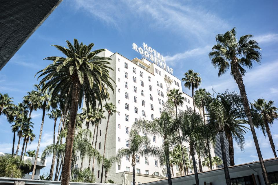 The Hollywood Roosevelt Los Angeles California Black Friday cyber Monday Travel Tuesday deals