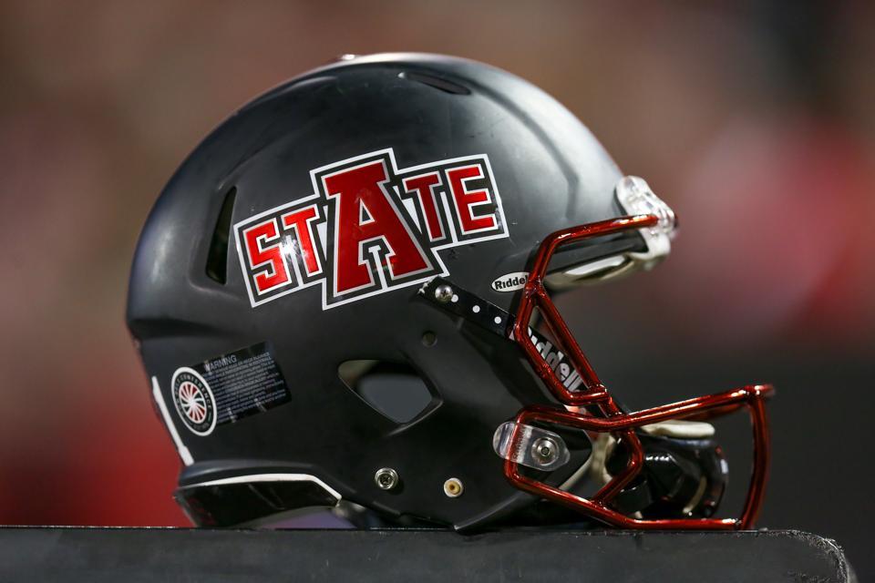 Arkansas State football helmet