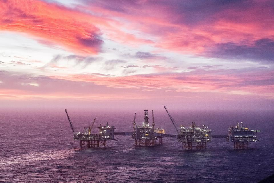 Norway's Johan Sverdrup oil field in the North Sea.