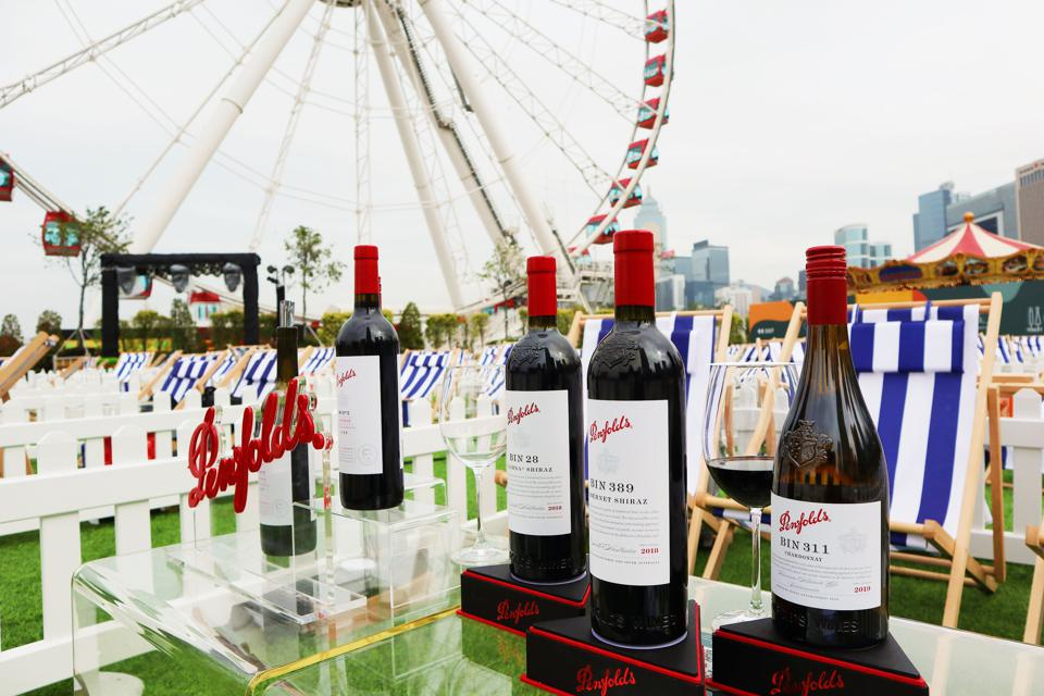 Penfolds wines at The Grounds Hong Kong