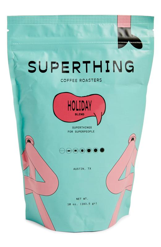 SUPERTHING Holiday Blend Whole Bean Coffee