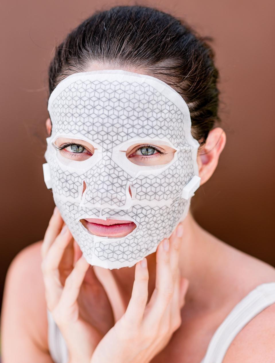 Franz Skincare Premium Microcurrent Facial Dual Mask