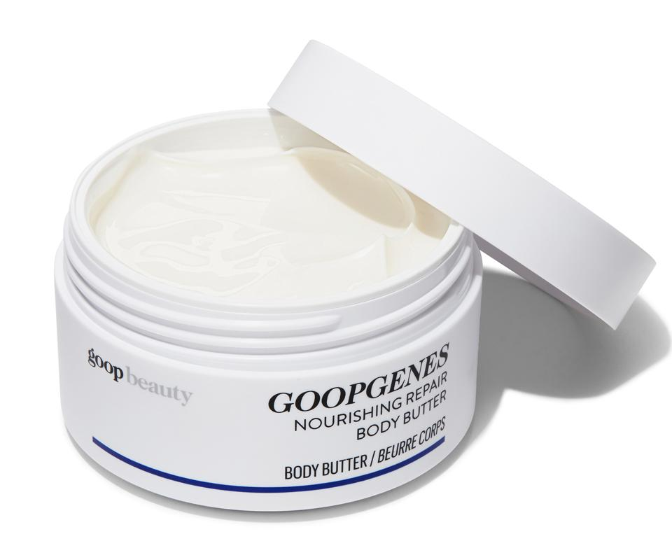GOOPGENES All-In-One Nourishing Face Cream is a luscious treat for the skin and a clinically tested supercream that leaves skin looking and feeling soft, smooth, firm, and moisturized for up to 48 hours.
