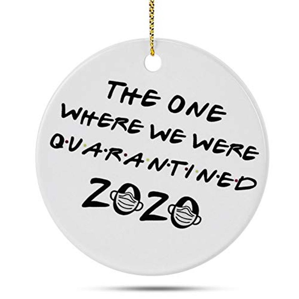 SELORY 2020 Christmas Ornament Quarantine
