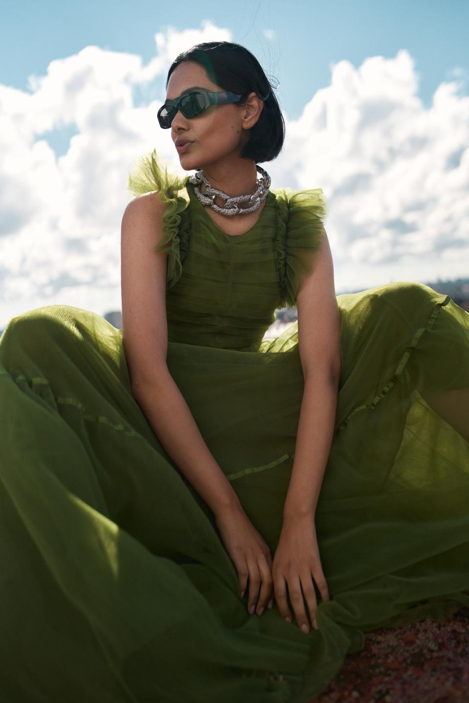 Zinnia Kumar, H&M Conscious Exclusive A/W20 collection campaign.
