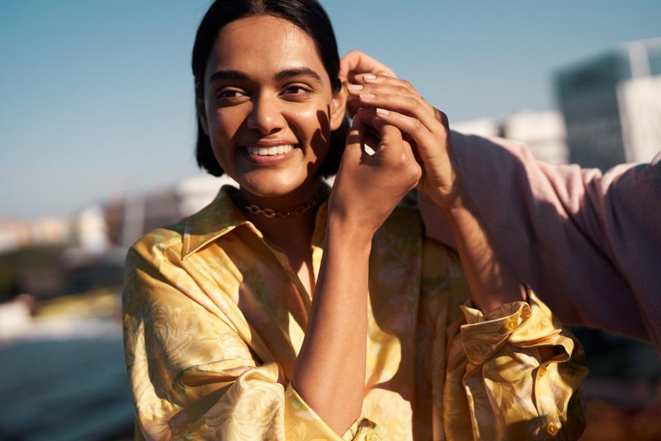 Zinnia Kumar, H&M Conscious Exclusive A/W20 collection campaign.H&M CONSCIOUS EXCLUSIVE