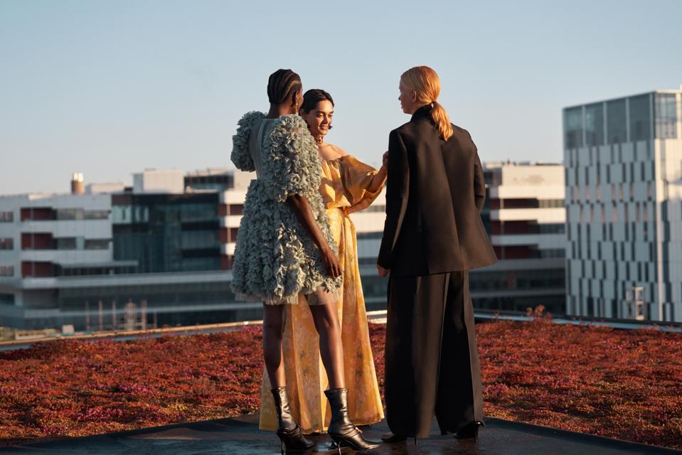 Zinnia Kumar, H&M Conscious Exclusive A/W20 collection campaign. H&M CONSCIOUS EXCLUSIVE