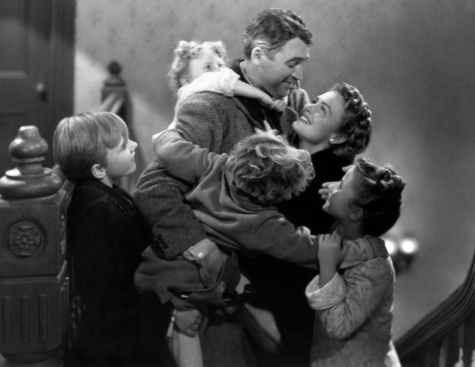 It's a Wonderful Life, Frank Capra, Jimmy Hawkins, Karolyn Grimes, Christmas movies