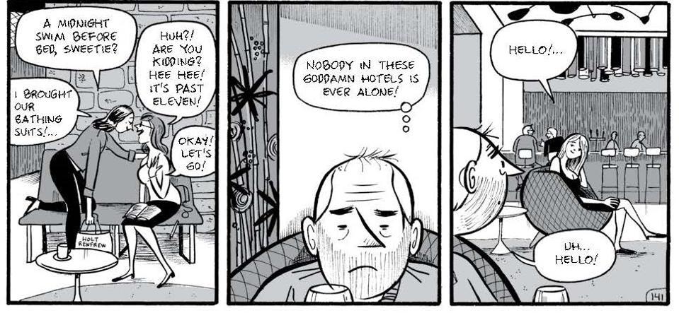 Michel Rabagliati Paul at Home graphic novel page 142