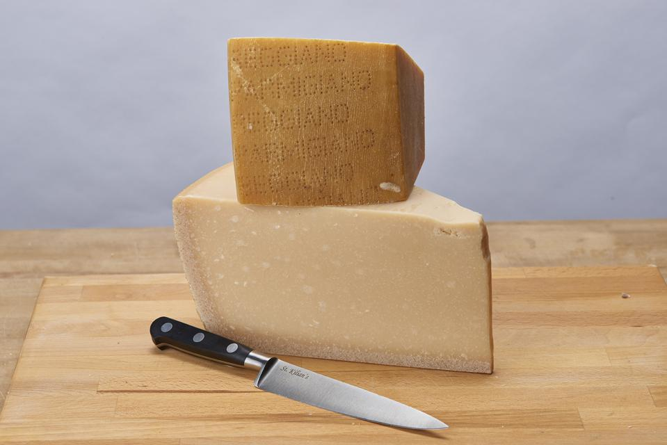 Parmigiano Reggiano is 24-months old