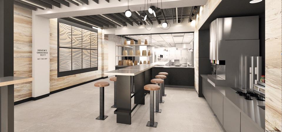 The new Chipotle Digital Kitchen