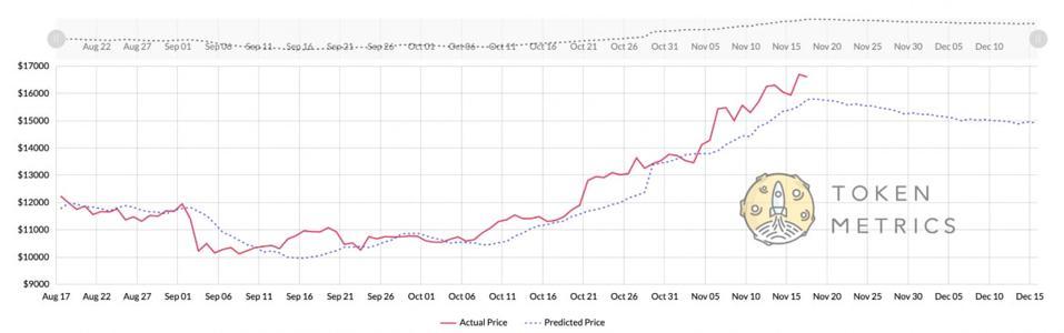 bitcoin, bitcoin price, Token Metrics, chart