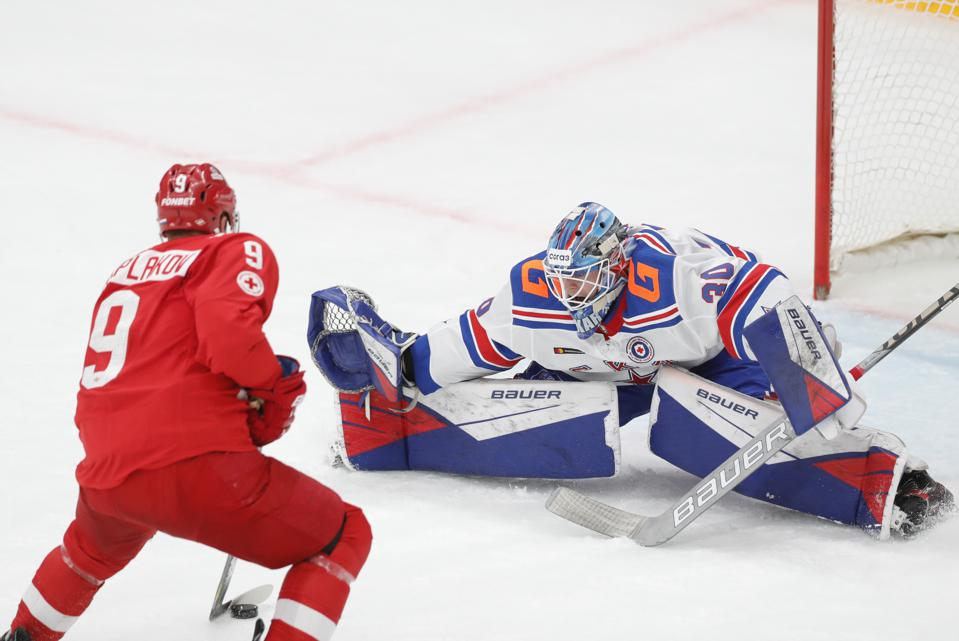 Kontinental Hockey League: Spartak Moscow vs SKA St Petersburg