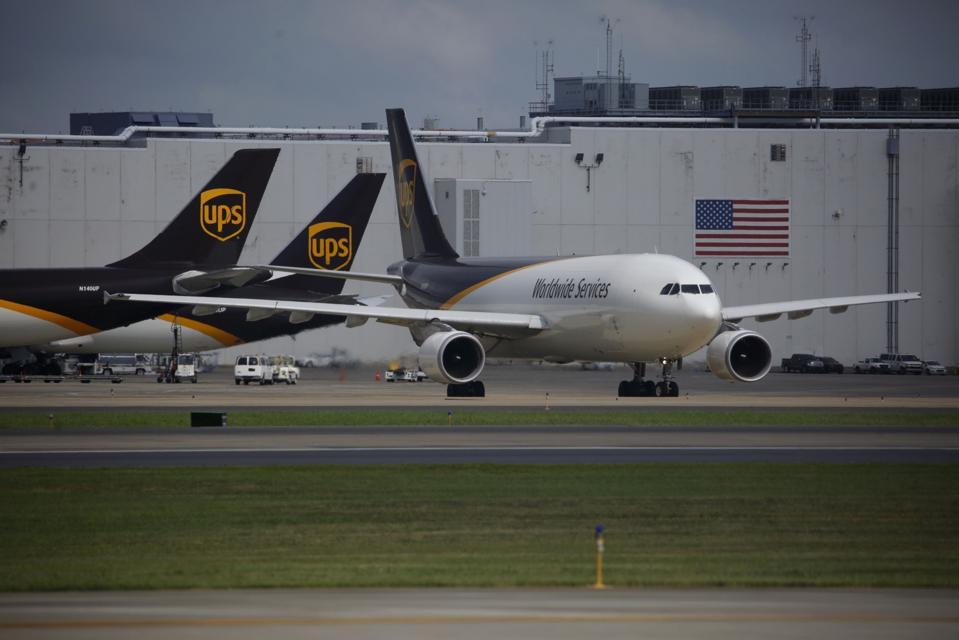 UPS Readies Freezer Facility To Ship Virus Vaccine At Company's Worldport Hub