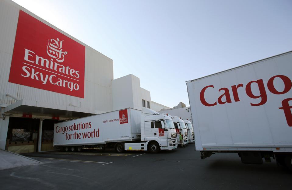 Mideast Emirates Cargo