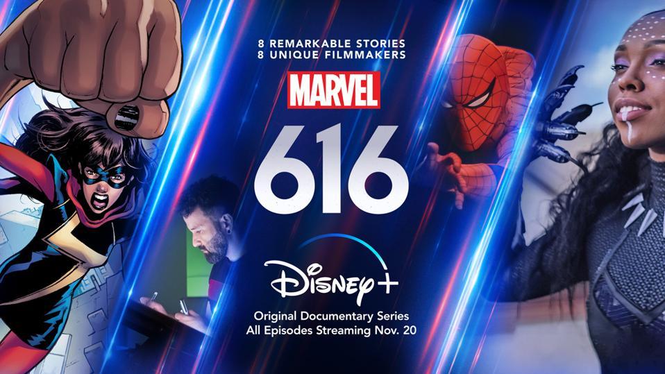 Marvel's 616 documentary poster for Disney Plus