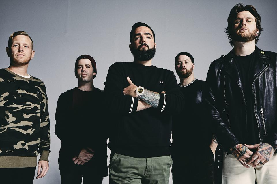 A Day To Remember bandmates