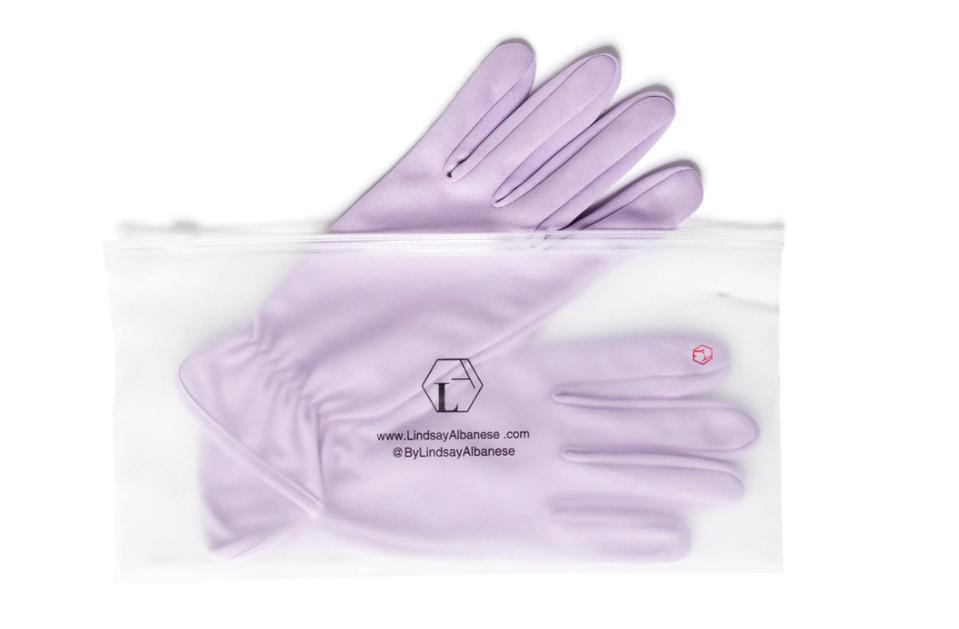 The Wander Gloves are a stylish way to protect hands from germs on public services.