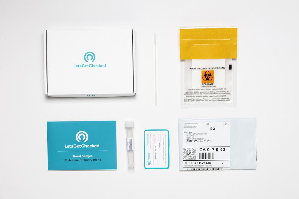 Let's Get Checked offers the gold standard of COVID tests in an at-home kit.