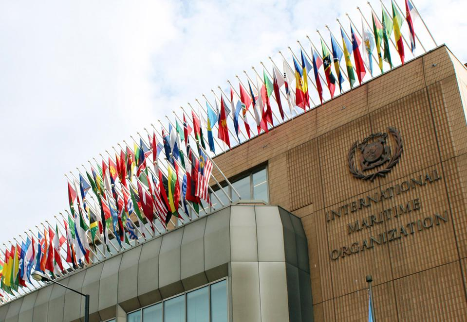 London Headquarters of the International Maritime Organization, where the vote was held virtually