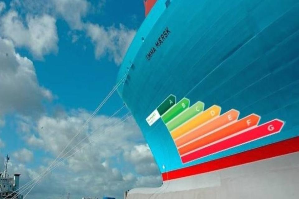 A vessel efficiency rating scheme, similar to washing machine appliances will be applied.  However, this based on theoretical efficiency, not how the vessel is actually operated, which the single biggest driver of emissions.