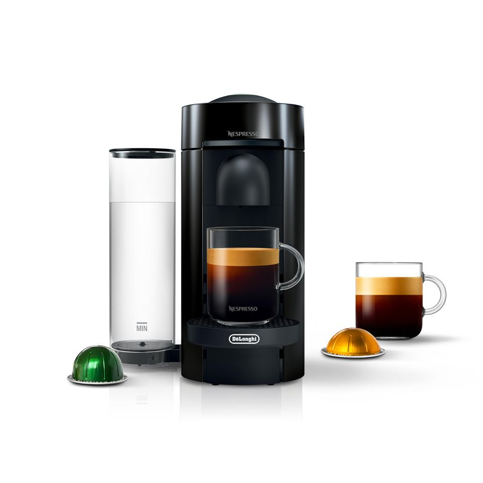 Nespresso by De'Longhi VertuoPlus, Black