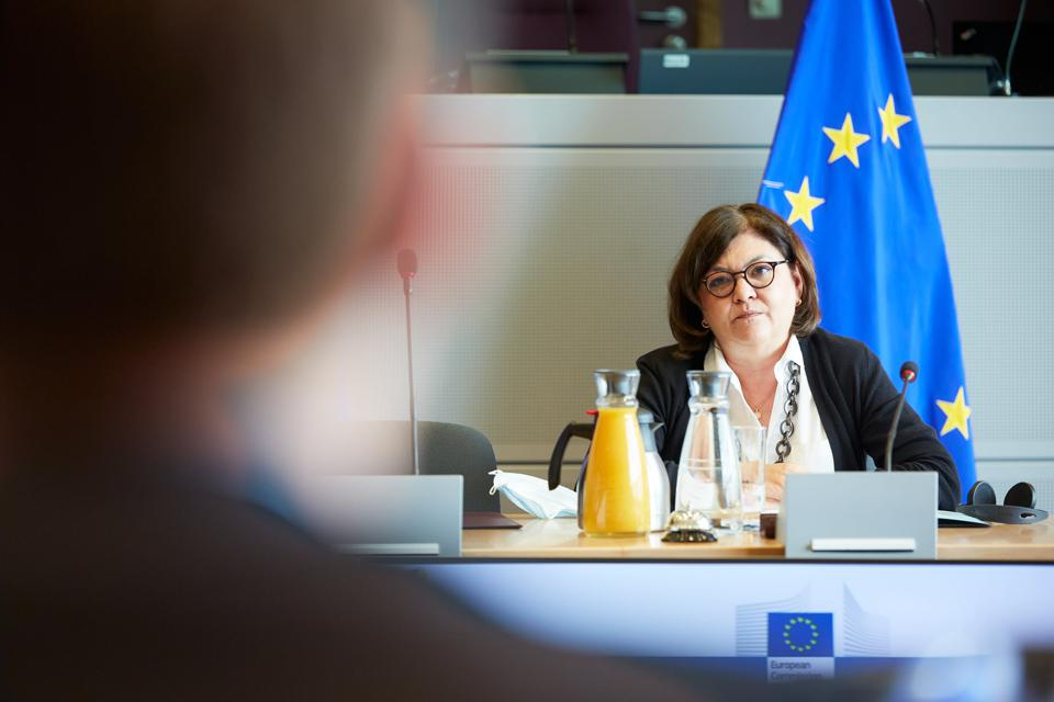 Adina Vălean, European Commissioner for Transport,