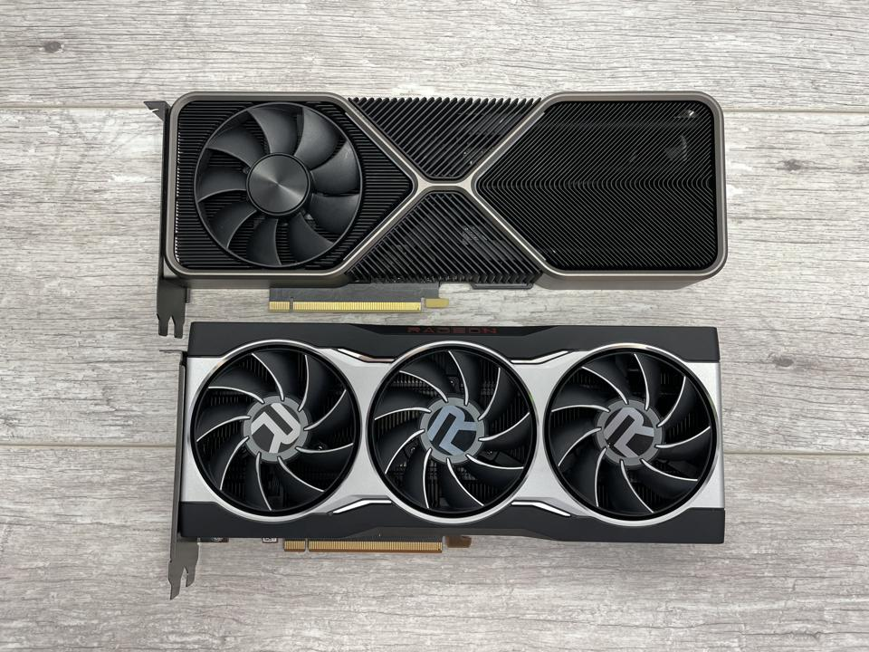 AMD's RX 6800 XT and Nvidia's RTX 3080 use two very different cooler designs