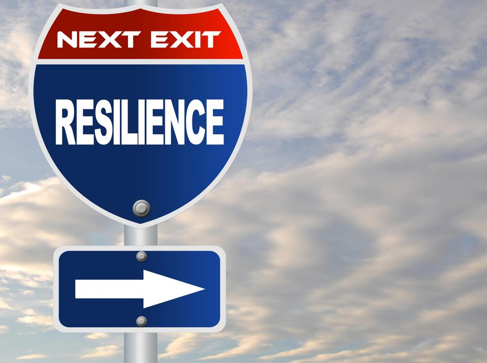 Resilience sign against microaggression