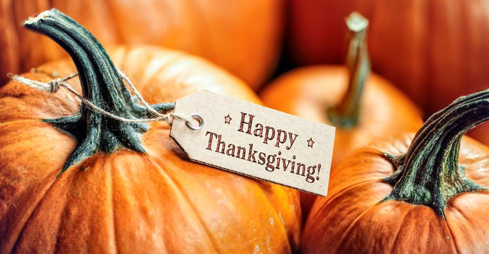 Thanksgiving is a time to focus on what we have instead of what we don't have.