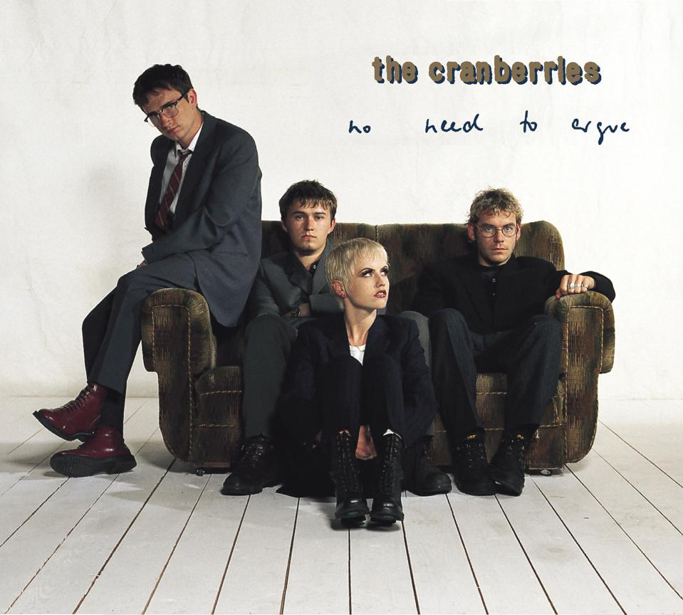The cover of the Cranberries' 1994 'No Need to Argue.'