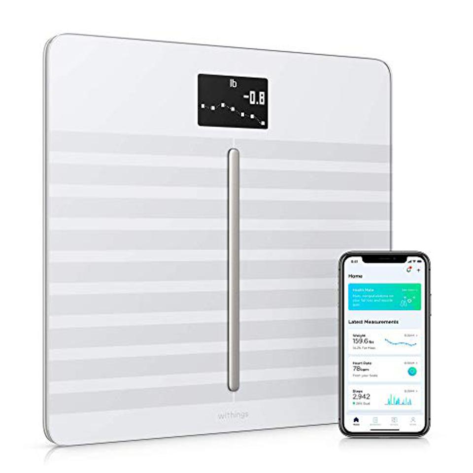 digital scale with smartphone