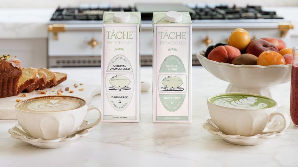 Táche pistachio milk
