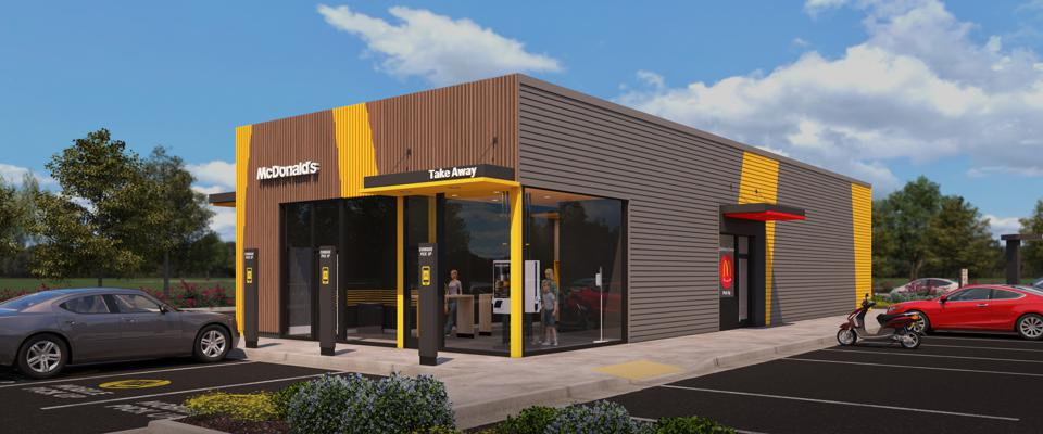 A rendering of McDonald's ″On-the-Go″ model