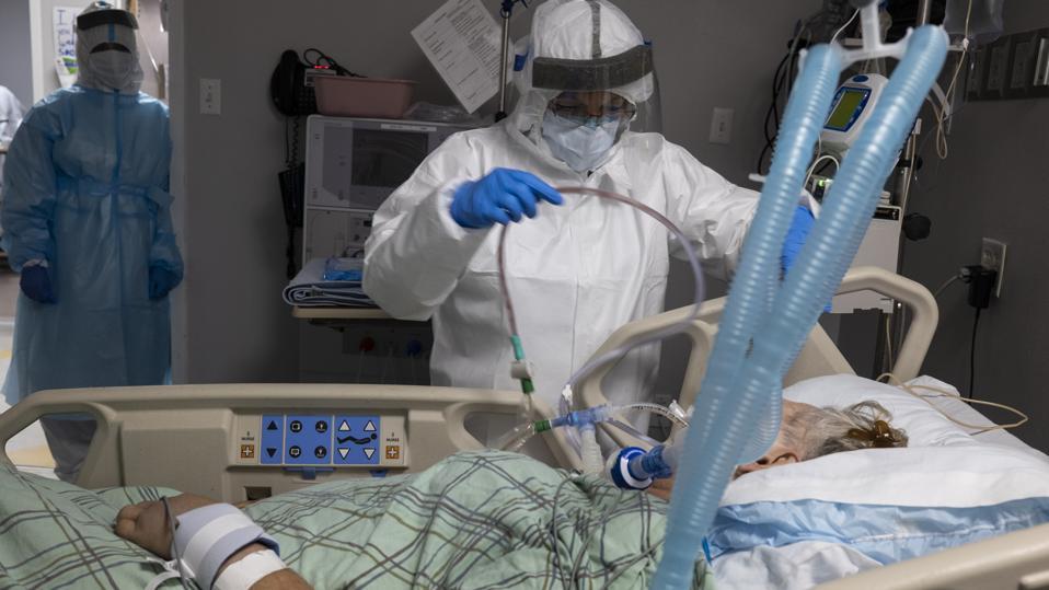 Houston Hospital Struggles With Coronavirus Surge In Texas