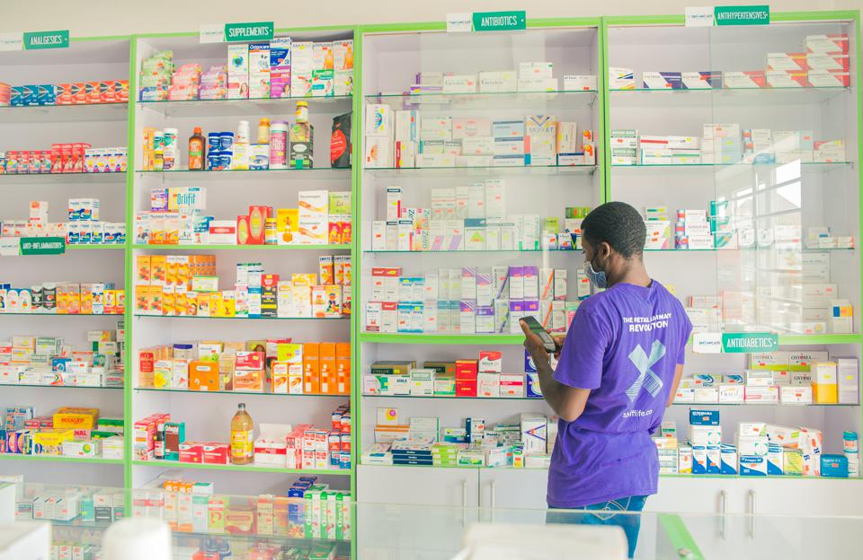 A platfin-enabled pharmacy in Africa