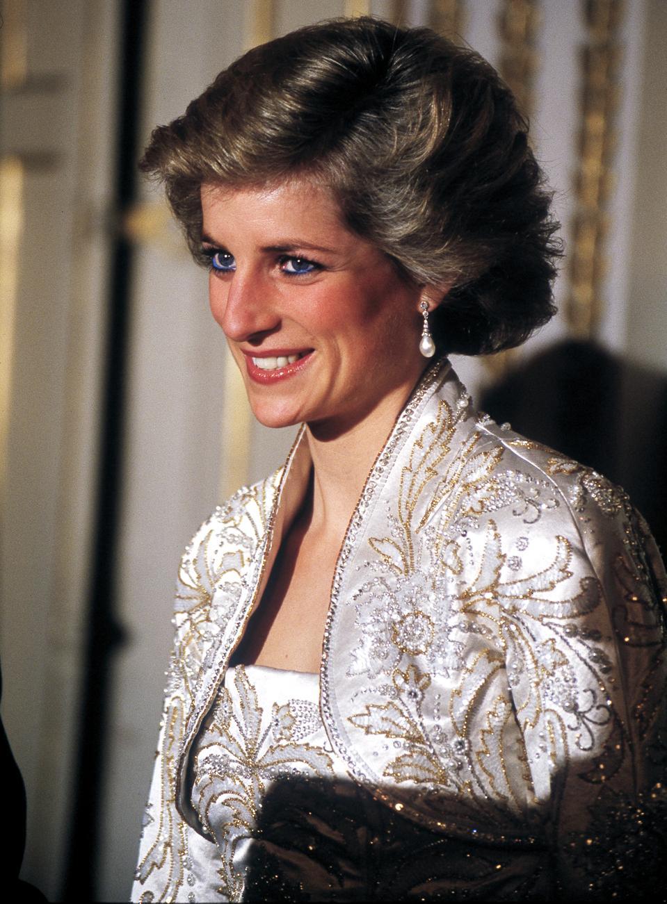 Princess Diana In Paris