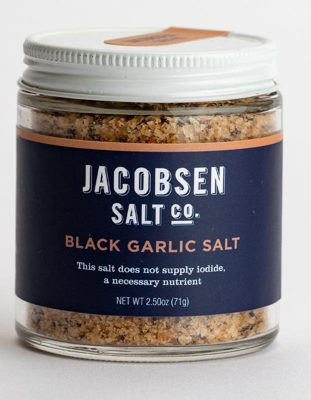Jacobsen Salt Co. Infused Salt Black Garlic