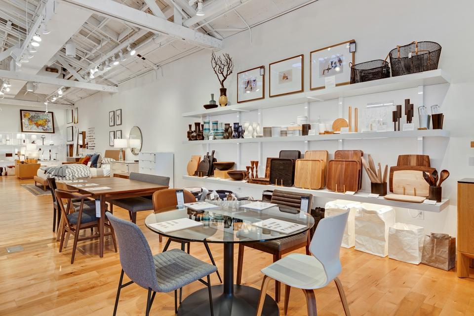 Room & Board Design Studio Pasadena interior