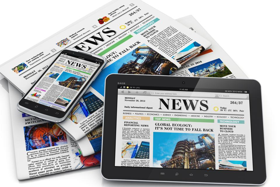 Electronic and paper media