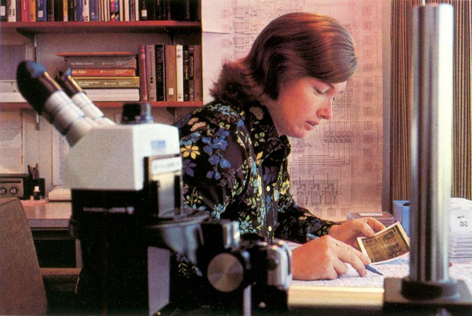 Lynn Conway at Xerox PARC, 1977