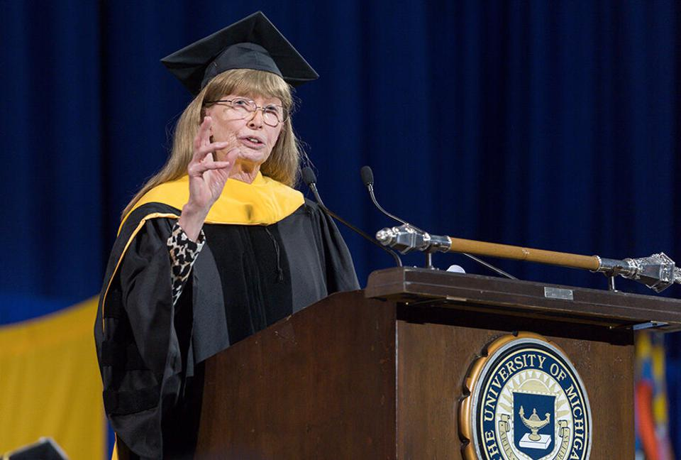 Lynn Conway receives an honorary doctorate and gives the Winter