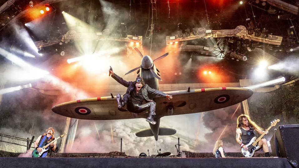 Iron Maiden, 2018