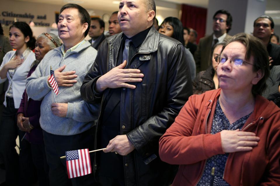 USA - Homeland Security - Naturalization Ceremony