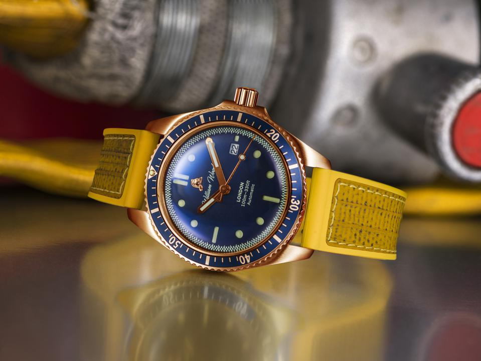 William Wood Valiant Bronze special edition watch