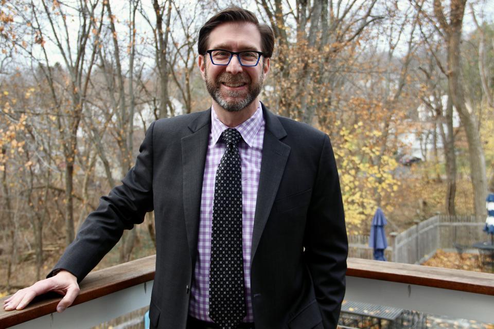 David Goldstein on deck