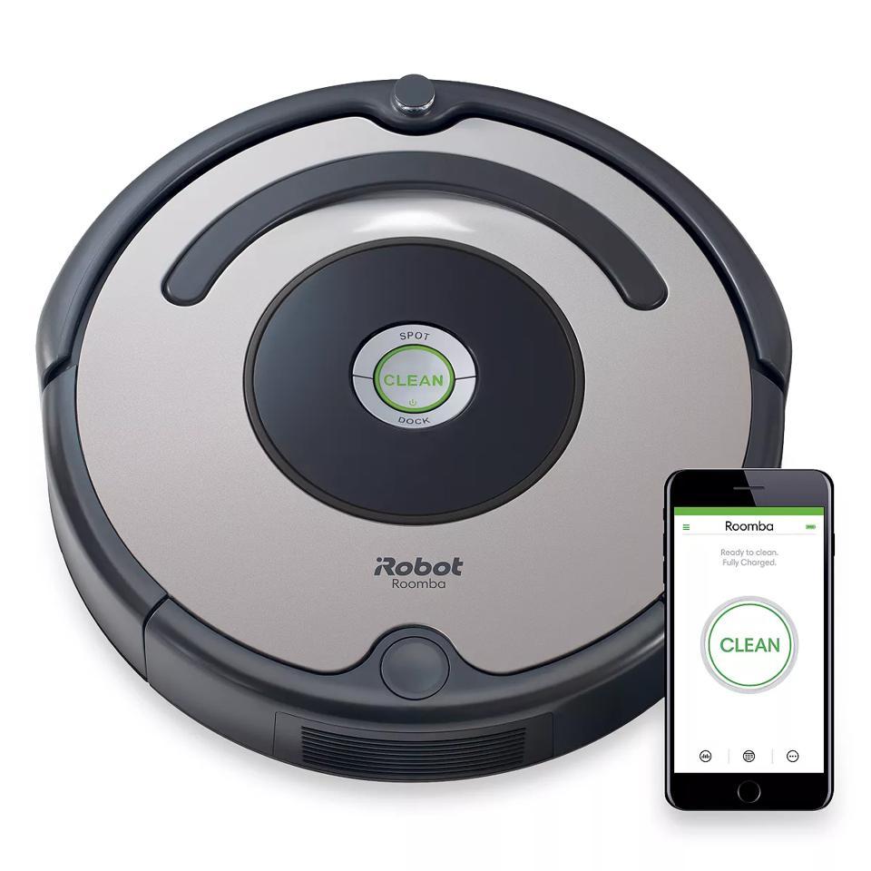 iRobot Roomba 677 Wi-Fi Connected Robotic Vacuum (R677020)